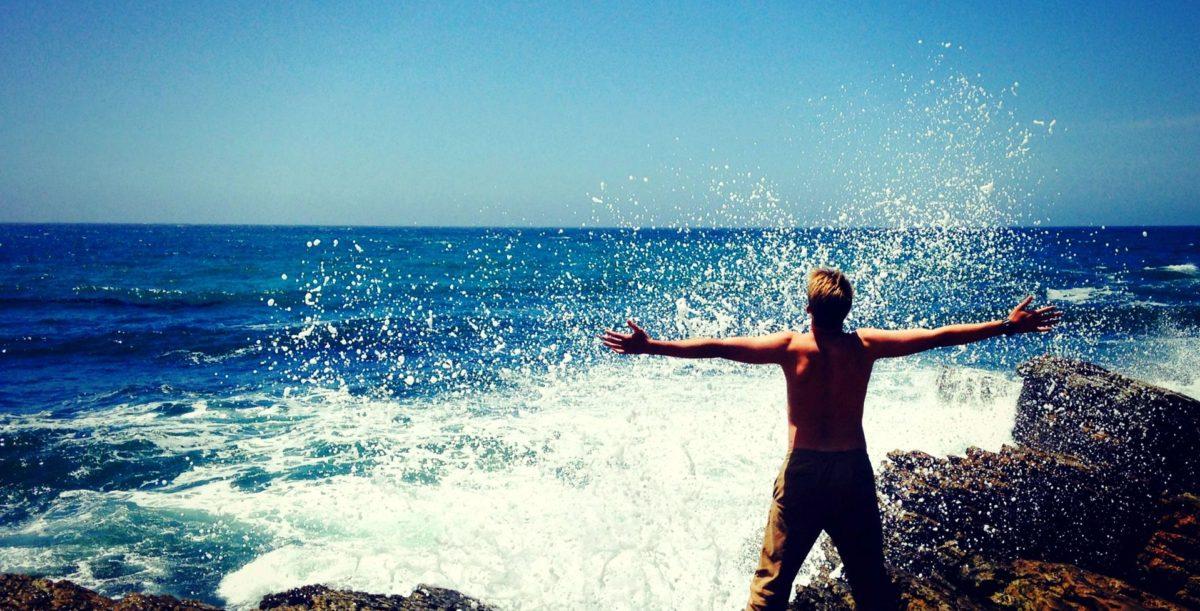 Waves Splashing South Florida